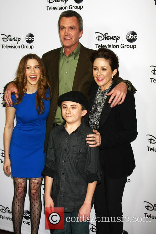 Eden Sher, Neil Flynn, Patricia Heaton and Atticus Shaffer 1