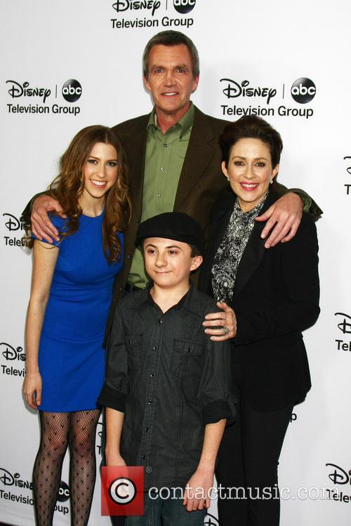 Eden Sher, Neil Flynn, Patricia Heaton and Atticus Shaffer 2