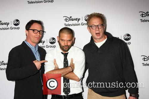 Joshua Malina, Guillermo Diaz and Jeff Perry 1