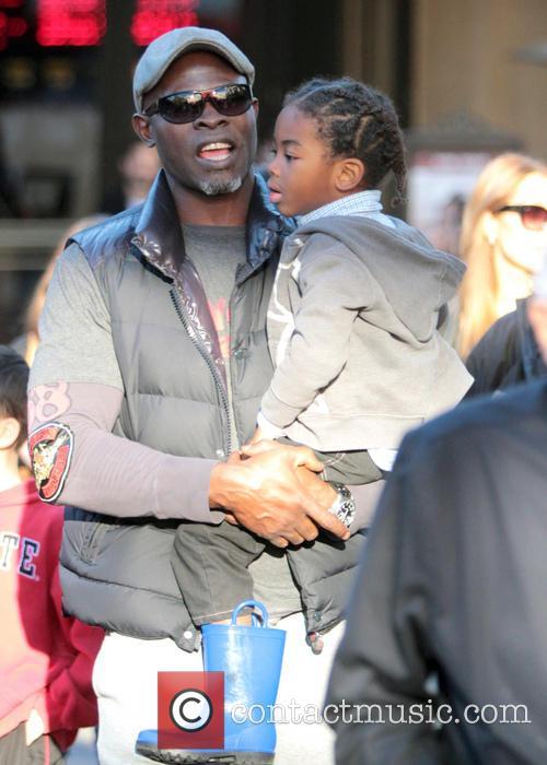 Djimon Hounsou and Kenzo Hounsou 7