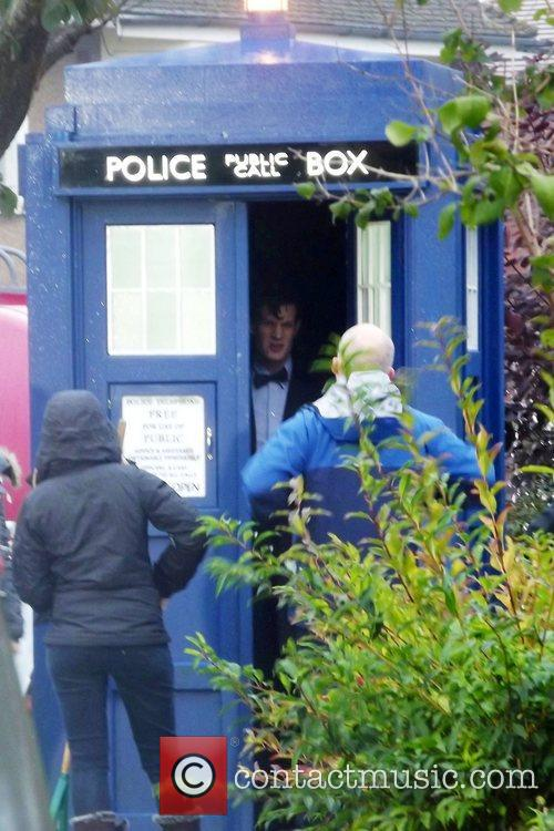 Filming the BBC series