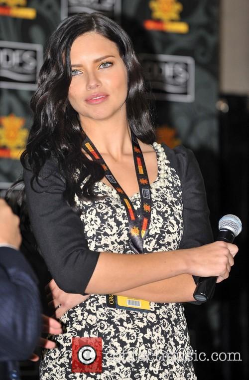 Adriana Lima 2013 Dosso Dossi Fashion Show...