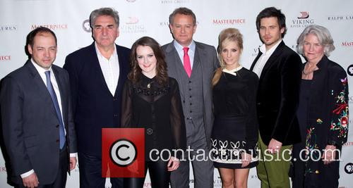 Gareth Neame, Jim Carter, Sophie Mcshera, Hugh Bonneville, Joanne Froggatt, Rob James-collier, Rebecca Eaton and Downton Abbey 4