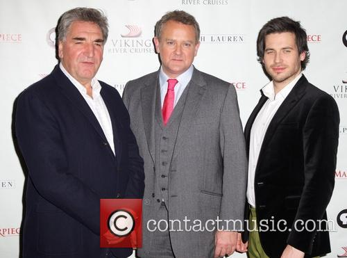 Jim Carter, Hugh Bonneville and Rob James-collier 5