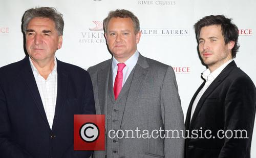 Jim Carter, Hugh Bonneville, Rob James-collier and Downton Abbey 8
