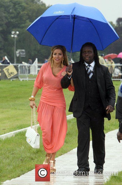 Elen Rivas  arrives for the 2012 Duke...