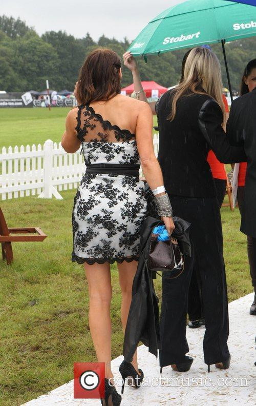 Lizzie Cundy  arrives for the 2012 Duke...