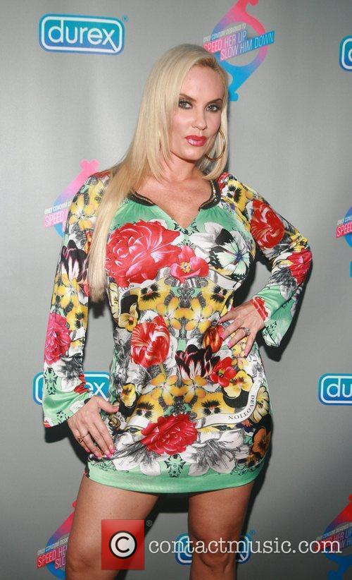 Coco Austin Durex Performax launch at Chrystie New...