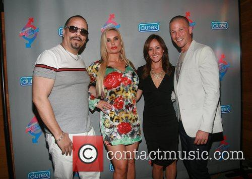 Ice T, Coco Austin, JP Rosenbaum and Ashley...