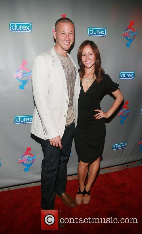 JP Rosenbaum and Ashley Hebert Durex Performax launch...