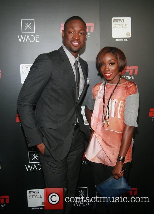Dwyane Wade and Estelle 2