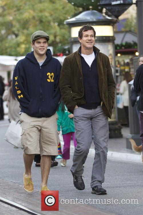 Dylan Walsh out christmas shopping at The Grove