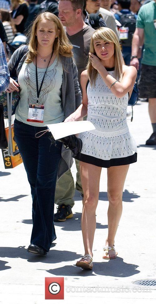 Sara Underwood  2012 E3 Expo at Los...