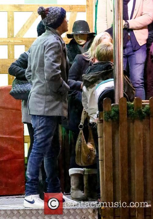 EXCLUSIVE Amy Childs Amy Childs at Winter Wonderland...