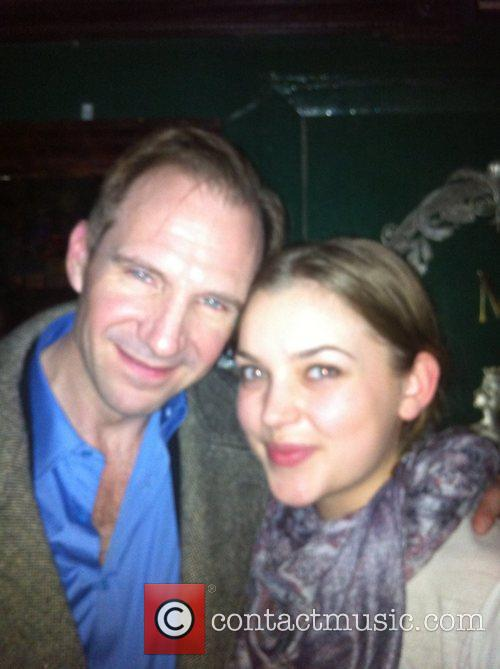 Movie veteran RALPH FIENNES stunned drinkers at a...