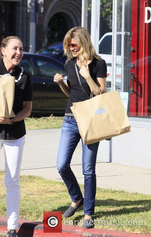 Ellen Pompeo shopping on Beverly Blvd  Los...