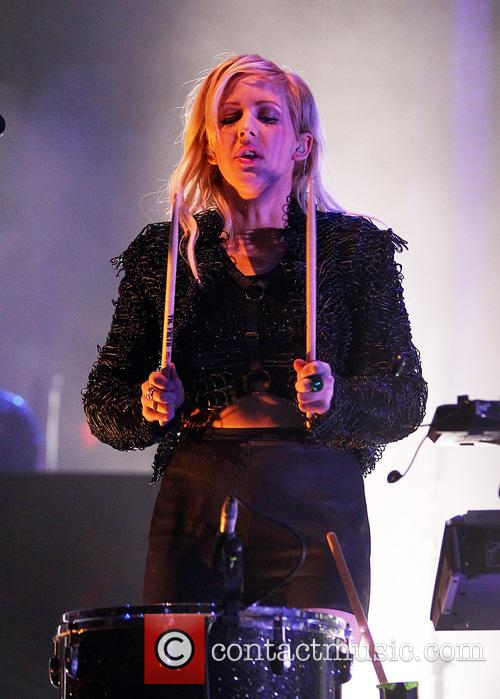 Ellie Goulding Ellie Goulding performing live in concert...