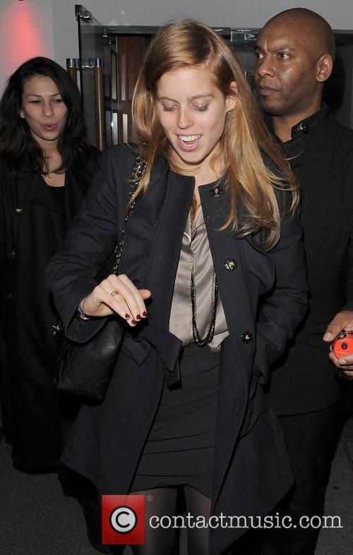 Princess Beatrice and Embassy Club 5