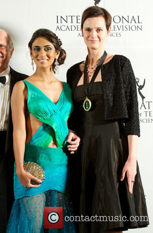 Annual International Emmy Awards and Press Room 11