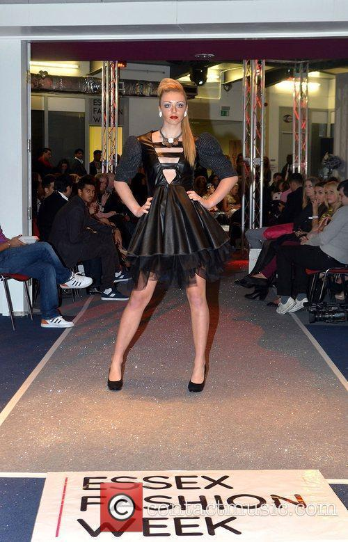 During Essex Fashion week 2012 at the Ceme...