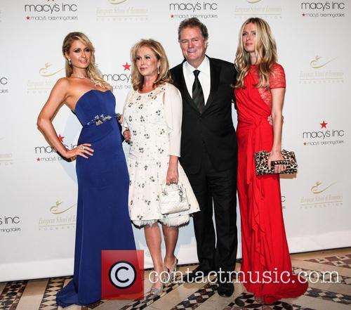 Paris Hilton, Kathy Hilton, European School Of Economics, Rick Hilton and Nicky Hilton 1