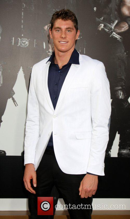 Conor Dwyer  at the Los Angeles Premiere...