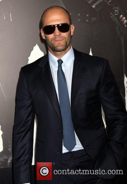 Jason Statham Expendables 2 premiere