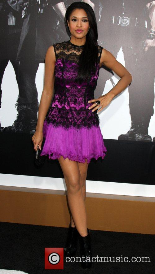 Kali Hawk  at the Los Angeles Premiere...