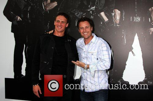Ryan Lochte and Chris Harrison  at the...