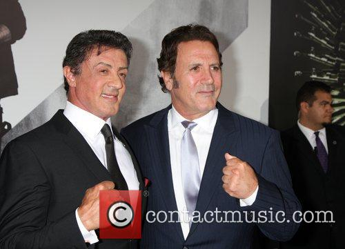 Sylvester Stallone and Frank Stallone  at the...