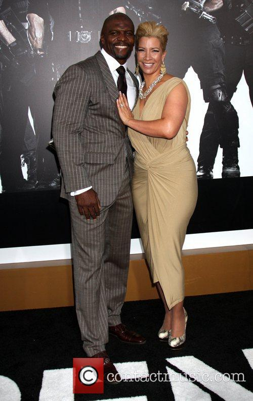 Terry Crews and Rebecca King-Crews at the Los...