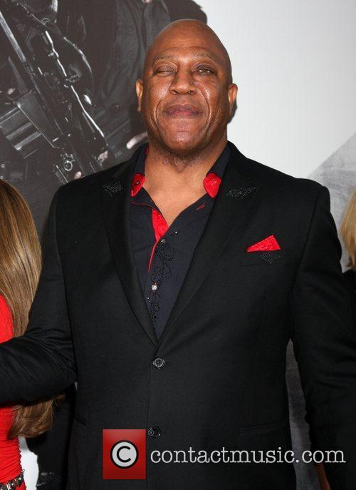 Tiny Lister at the Los Angeles Premiere of...
