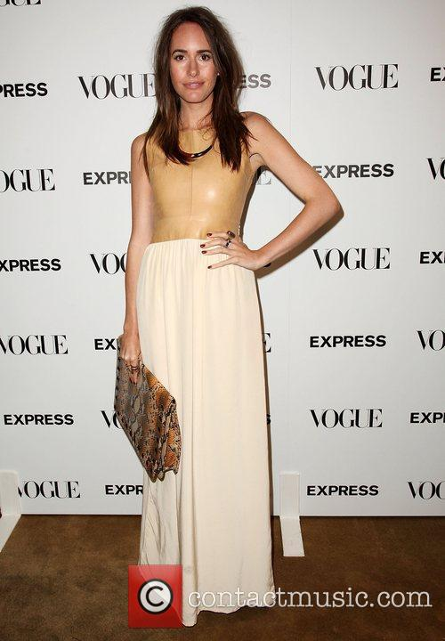 Louise Roe  Express And Vogue Celebrate 'The...