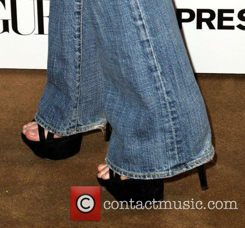 Lydia Hearst (shoe detail)  Express And Vogue...