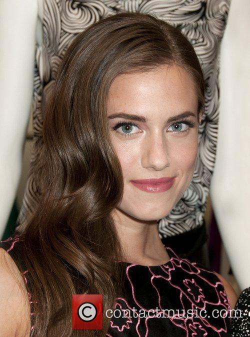 Allison Williams Fashion's Night Out - DVF Store...