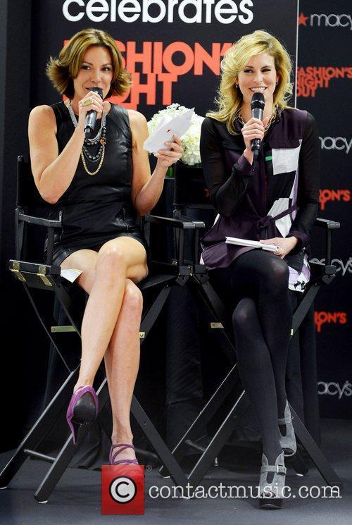 Countess Luann De Lesseps and Niki Taylor 2