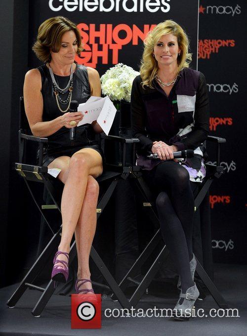 Countess Luann De Lesseps and Niki Taylor 1