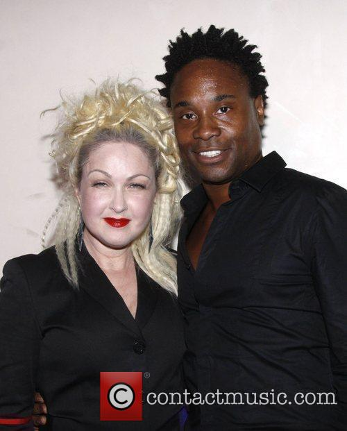 Cyndi Lauper and Billy Porter 3
