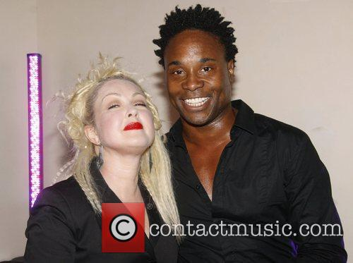 Cyndi Lauper and Billy Porter 4