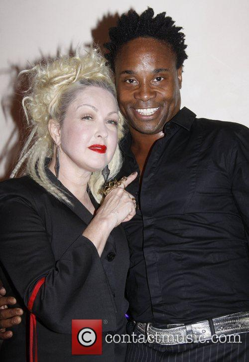 Cyndi Lauper and Billy Porter 5