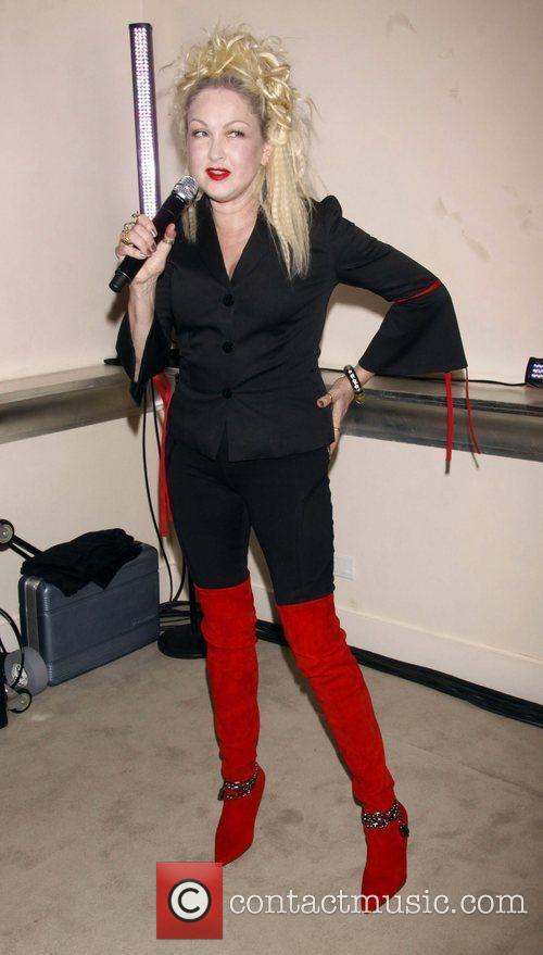 Cyndi lauper the promotion for the upcoming broadway for Kinky boots cyndi lauper