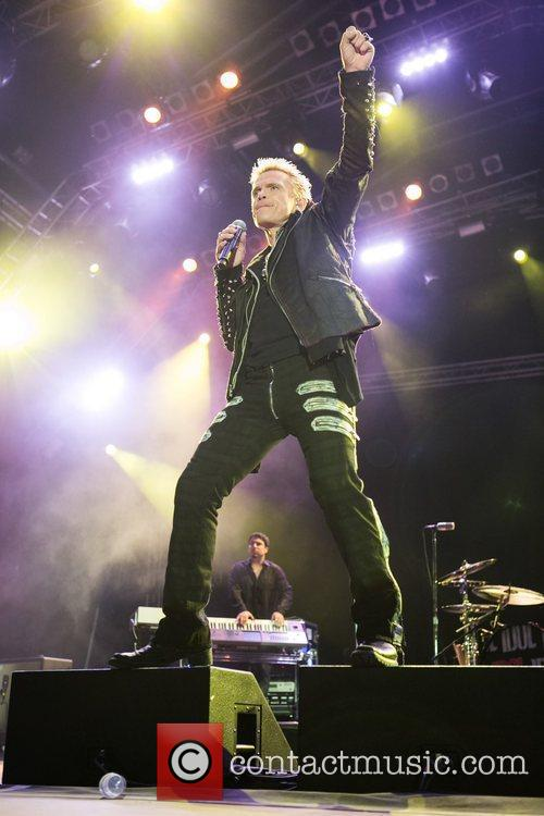 Billy Idol  performing during the 3rd day...