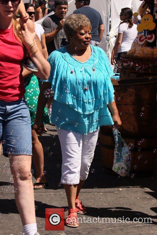 Reatha Grey celebrities attend the Fiesta Hermosa Carnival....