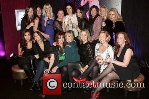 Heidi Range, Kate Thornton, Myleene Klass, Tamzin Outhwite and South Bank 2