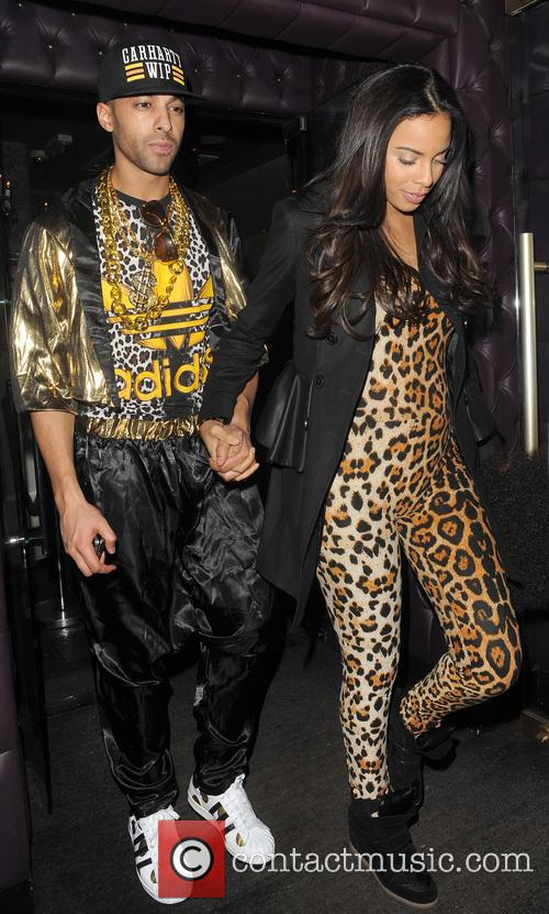 Rochelle Humes; Marvin Humes Rochelle Humes and husband...
