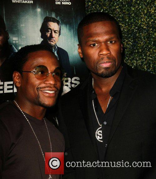 Floyd Mayweather Jr., 50 Cent and Curtis Jackson 4