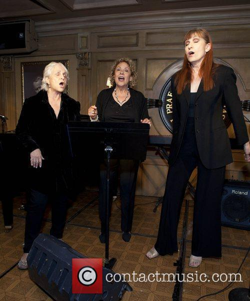 Toni Wine, Leslie Miller, Ula Hedwig Friars Club...