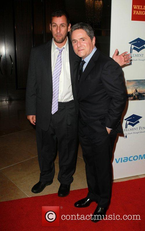 Adam Sandler and Brad Grey 1