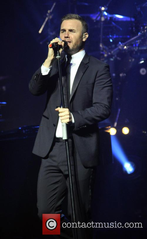 Gary Barlow Gary Barlow performing Live at the...