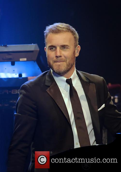 gary barlow performing live on stage at 20038666